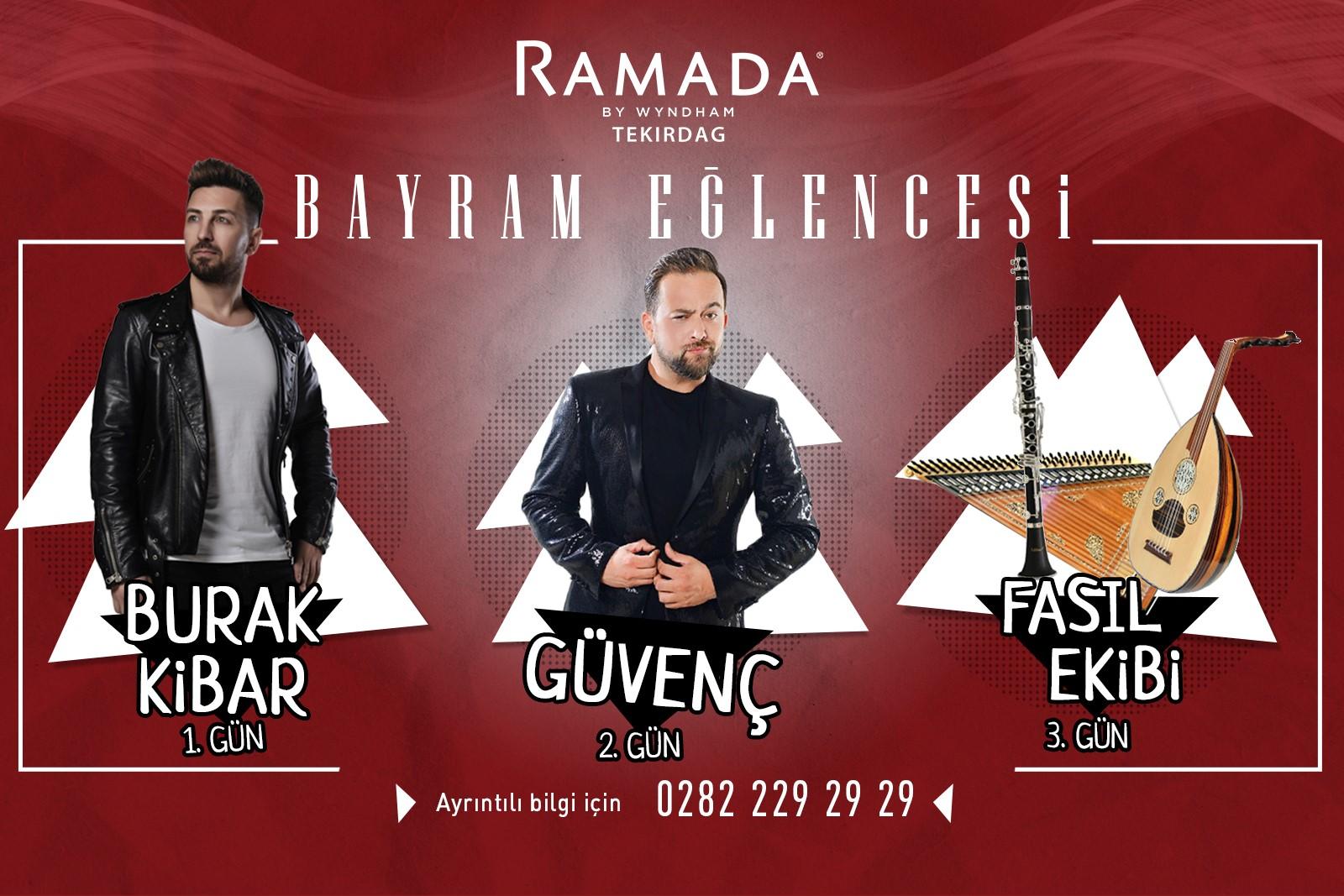 Enjoying the Ramadan Feast The Ramada By Wyndham is lived in Tekirdağ